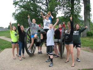 Youth Group in Gettysburg (June 2012)